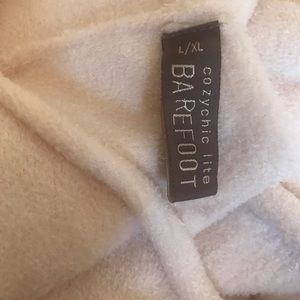 barefoot dreams cozychic lite pale pink sweater